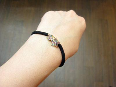 キラキラゴム 星 ¥630