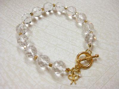 水晶ブレスレット ¥2940
