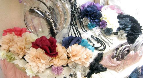 浴衣用お花コーム 全12色 ¥1575