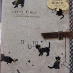 2012年手帳 黒猫 ¥2100