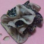 小花柄Wコーム ピンク ¥2625