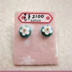 ターコイズチタンピアス ¥2100