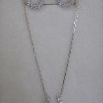 silver925馬蹄ネック¥3675 ピアス¥2310