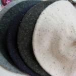 ポツポツドットベレー帽 ¥2940