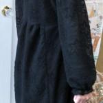 袖付ワンピース 黒