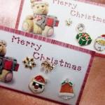 4個つきクリスマスバージョンピアス