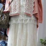 チュールレースロングスカート ¥5250