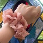 春色シュシュ ピンク