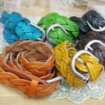 編み編み革ベルト ¥3150