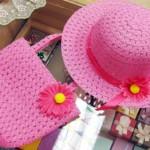 カゴバッグ&帽子セット¥1000