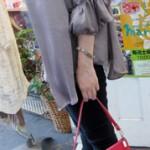 タッセル付バッグ ¥5250