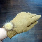 ウール手袋¥1000