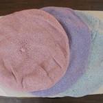 グラデーションベレー帽