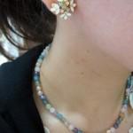 マルチカラー天然石ネックレス