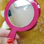 立体バラ手鏡
