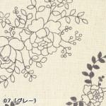 花柄エプロン