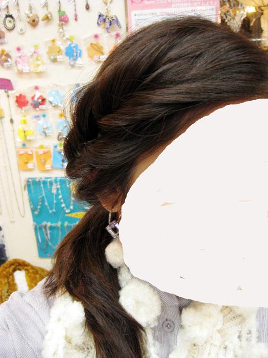 前髪くるりんぱ